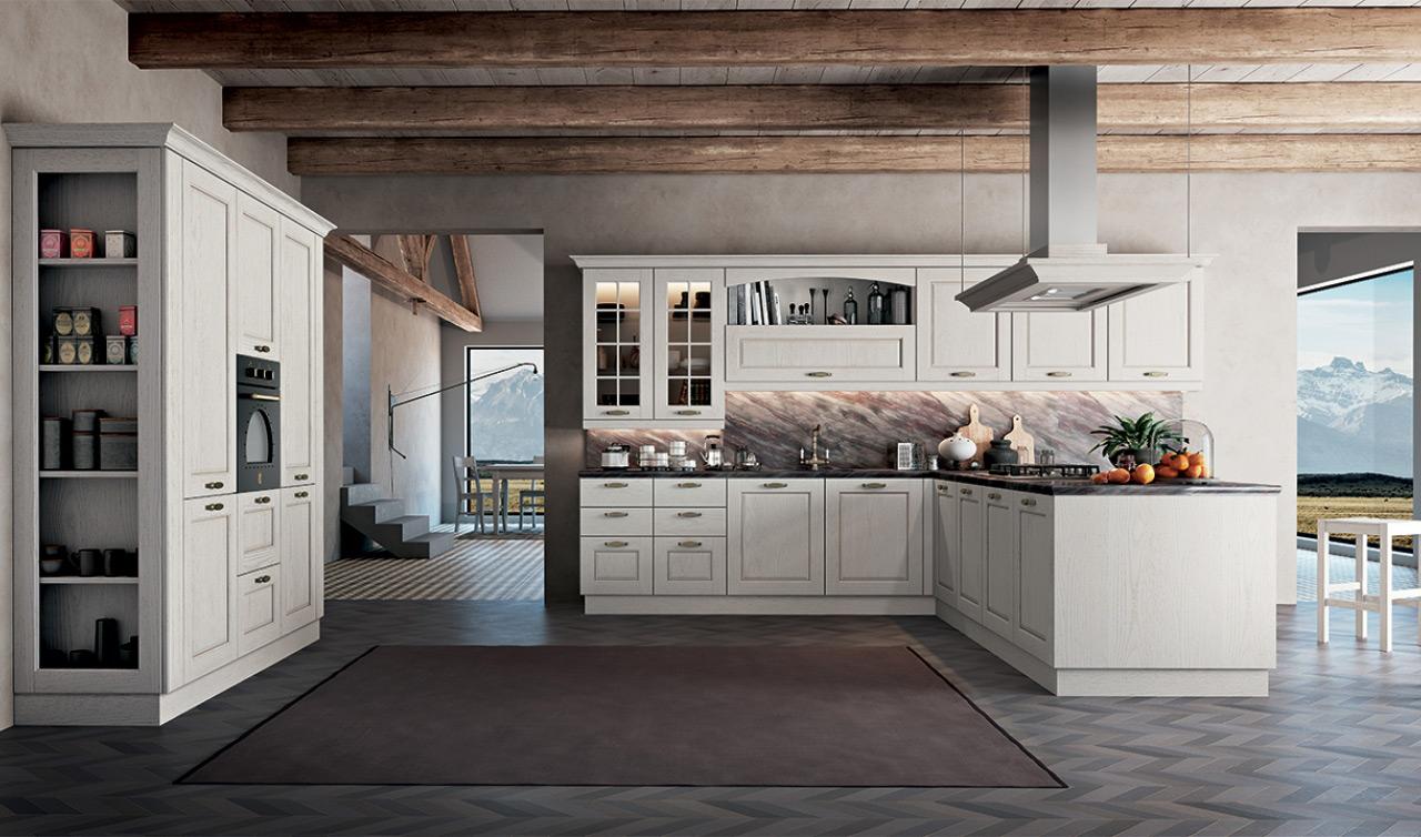 Cucine brescia classiche cucine in muratura country - Modelli di cucina in muratura ...