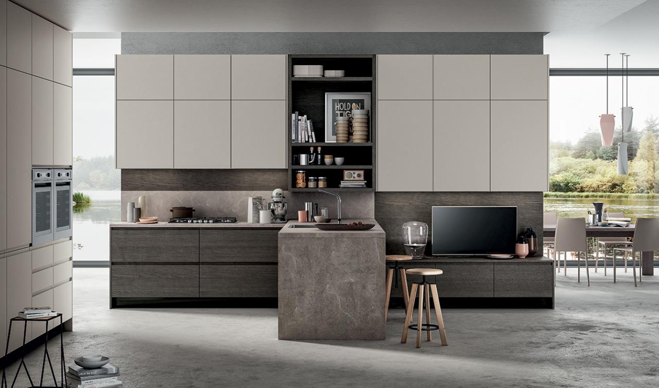 Cucine moderne brescia cucine su misura mobili for Casa moderna cucina