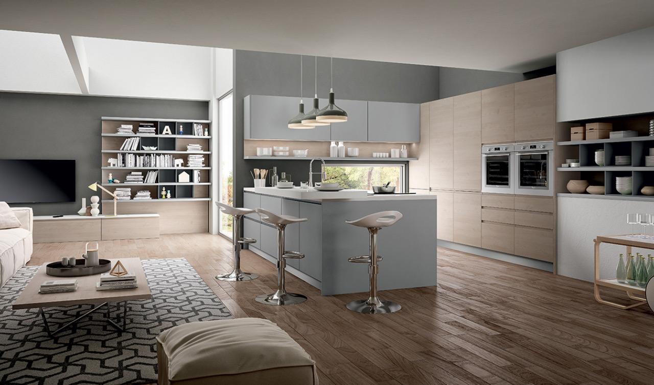 Cucine moderne brescia cucine su misura mobili - Top cucina laminato su misura ...