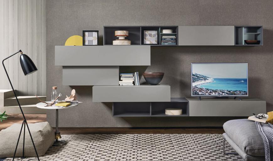 Mobili soggiorno Brescia – Arredamento salotto – Moduli