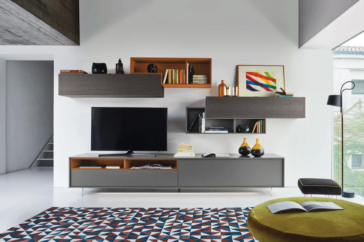 Moduli componibili soggiorno for Arredamento casa brescia