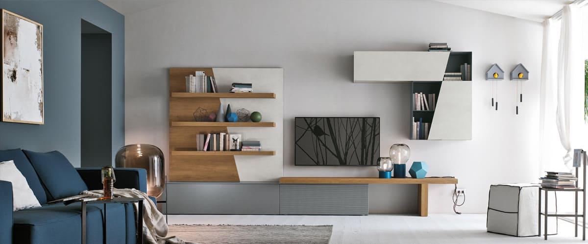 mobili soggiorno brescia arredamento salotto moduli