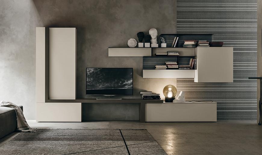 Mobili soggiorno brescia arredamento salotto moduli for Moduli componibili soggiorno