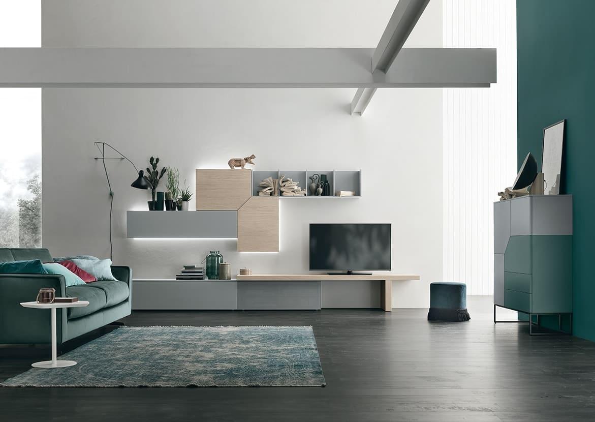 Mobili soggiorno Brescia - Arredamento salotto - Moduli